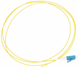 Pigtail LC/UPC SM 9/125 G657A 1M