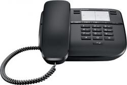 Telefon przewodowy SIEMENS Gigaset DA310 Czarny