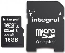 Karta pamięci INTEGRAL 16 GB Adapter