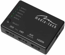 Przełącznik/Rozdzielacz Video MEDIA-TECH MT5207