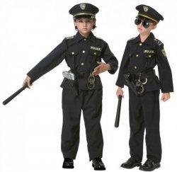 STRÓJ KARNAWAŁOWY AMERYKAŃSKI POLICJANT POLICE 116