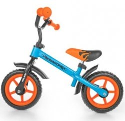 Rower Rowerek biegowy Dragon Blue Orange #B1