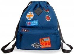 Worek Plecak Urban Badges Blue Coolpack 2019