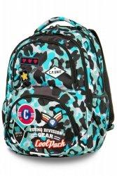 Plecak Coolpack CP Camo Blue Badges 27l Dart 2019