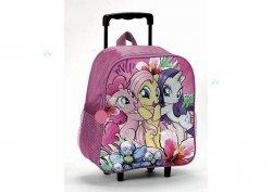 My Little Pony Power Color Plecak z Kółkami *