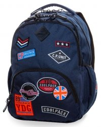 Plecak Coolpack CP Badges Blue 30l Bentley Xl 2019