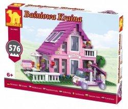 Klocki Baśniowa Kraina 24801 Domek Piętrowy - 576 elementów