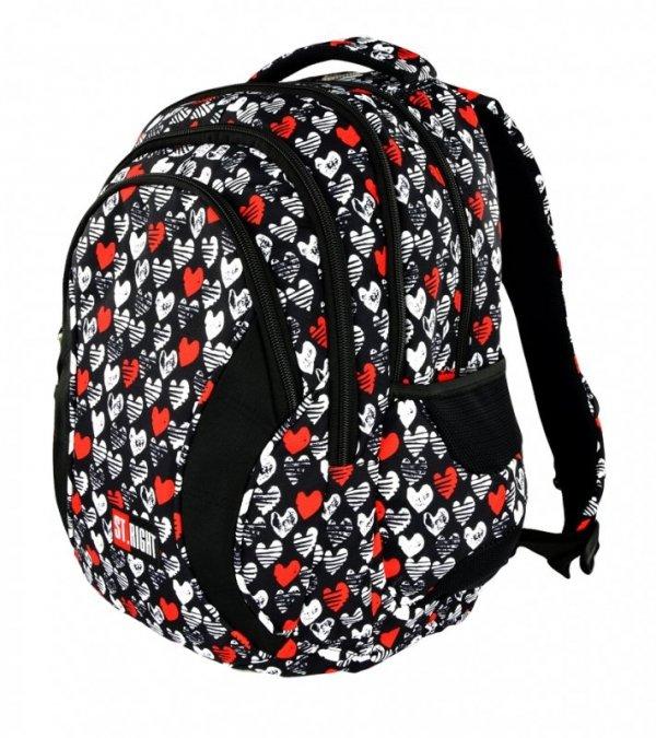 Plecak Młodzieżowy Heartbeat Bp-02 St.Right