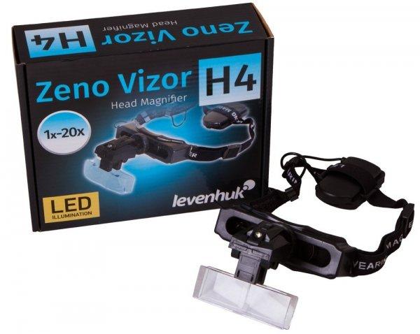 Lupa nagłowna Levenhuk Zeno Vizor H4