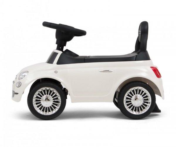 JEŹDZIK POJAZD FIAT 500 NIEBIESKI LICENCJONOWANY #B1