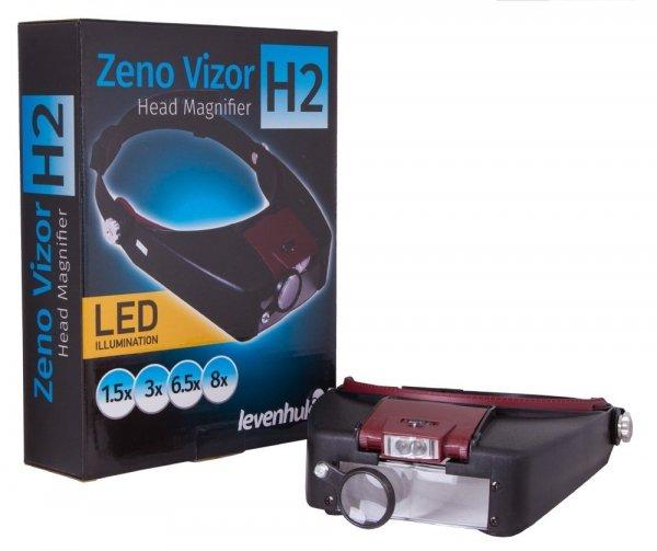 Lupa nagłowna Levenhuk Zeno Vizor H3