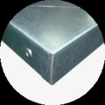 Blat warsztatowy blacha ocynk 1400x600x40 mm