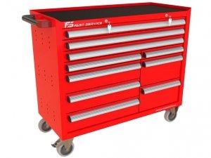 Wózek warsztatowy TRUCK z 10 szufladami PT-273-75