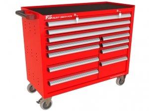 Wózek warsztatowy TRUCK z 11 szufladami PT-273-76