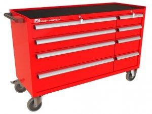 Wózek narzędziowy MEGA z 9 szufladami PM-223-23