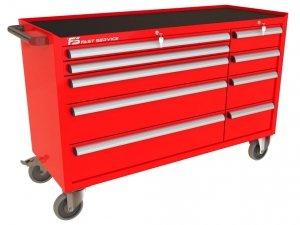 Wózek narzędziowy MEGA z 9 szufladami PM-222-23
