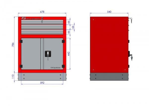 Stół warsztatowy – T-18-30-10-01