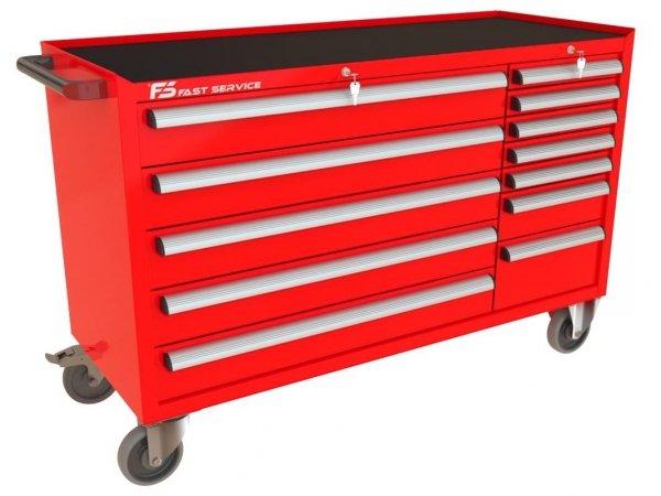 Wózek narzędziowy MEGA z 12 szufladami PM-215-19