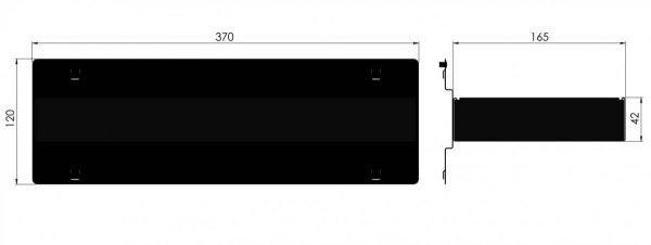 Zawieszka do przechowywania drobnych elementów ZWN-02