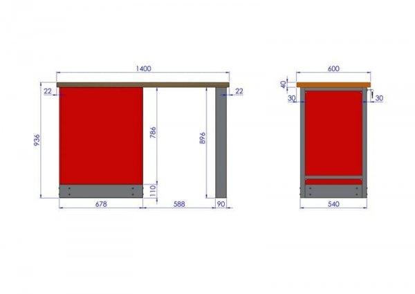 Stół warsztatowy – TK-18-01