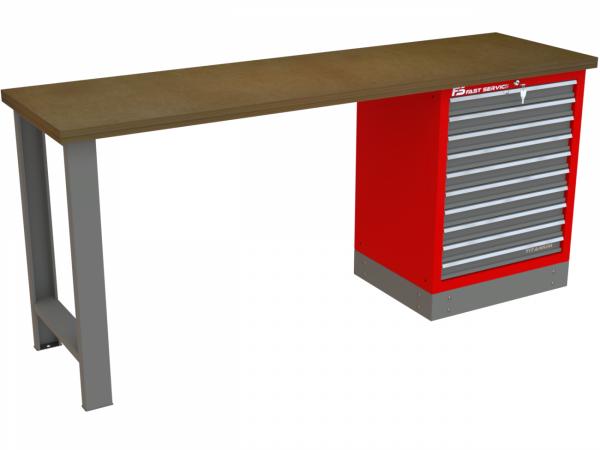 Stół narzędziowy z 10 szufladami