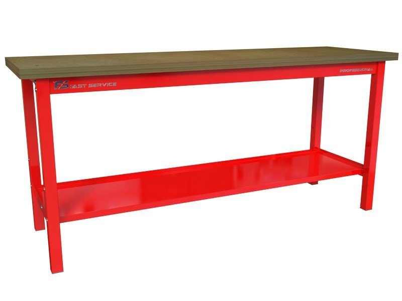Solidny Stół warsztatowy podstawowy 2230x600mm 1500kg