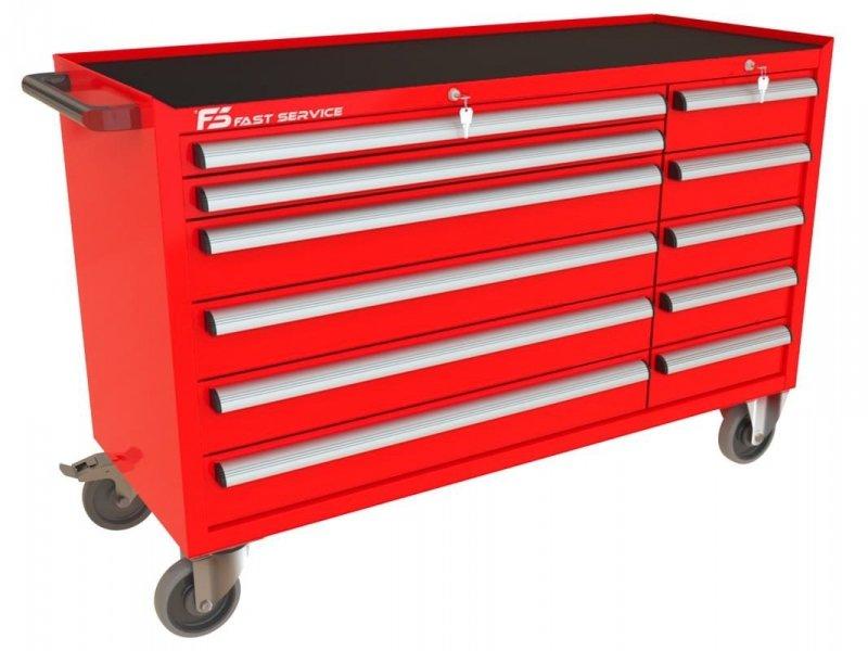 Wózek narzędziowy MEGA z 11 szufladami PM-214-15