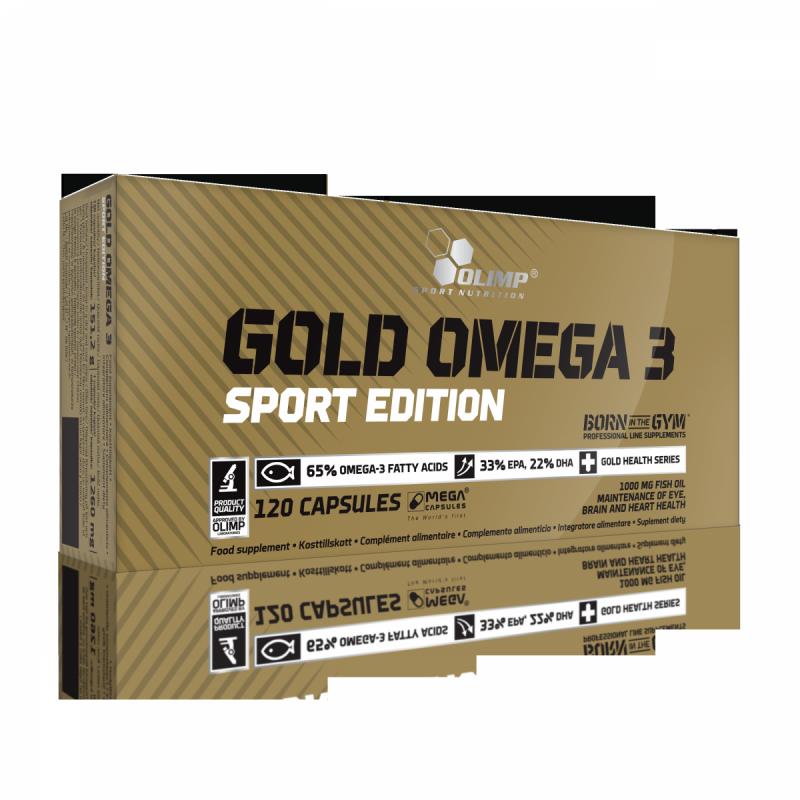 Gold Omega 3 Sport Edition 120 kaps