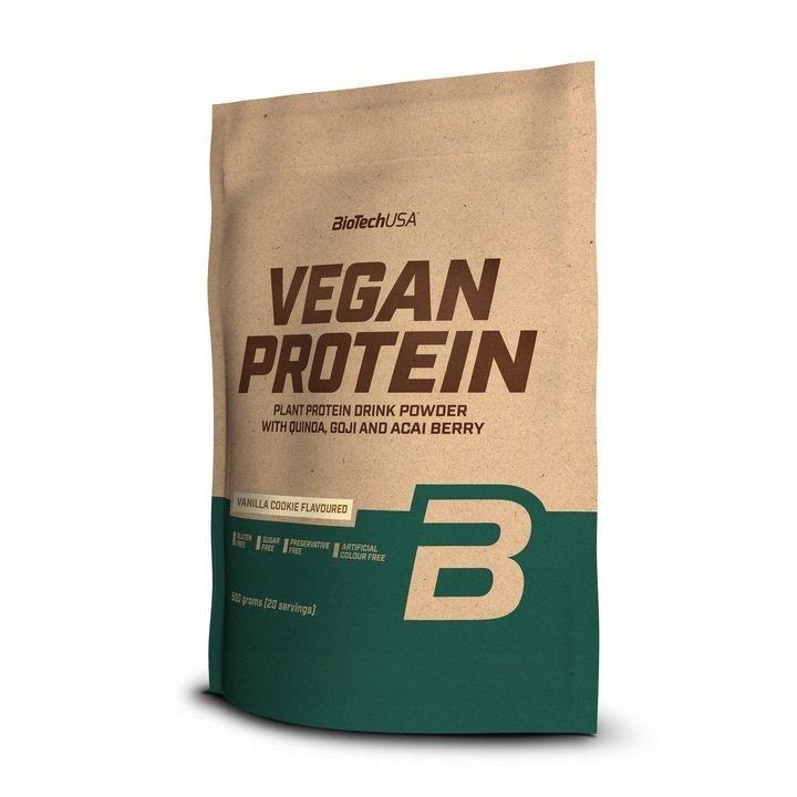 BioTech Vegan Protein 500g  vanilla cookie