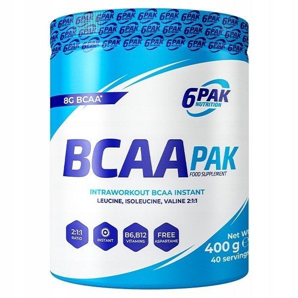 6PAK Aminokwasy BCAA PAK 400g