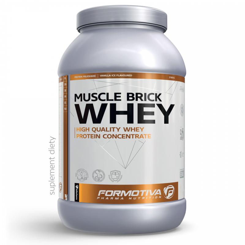 Białko Formotiva Muscle Brick Whey 2100g Cookies