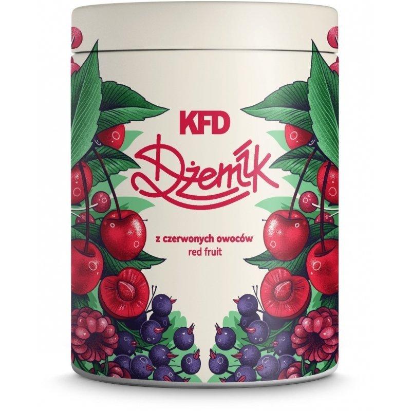 KFD Dżemik 1000 g Niskokaloryczny  czerwone owoce