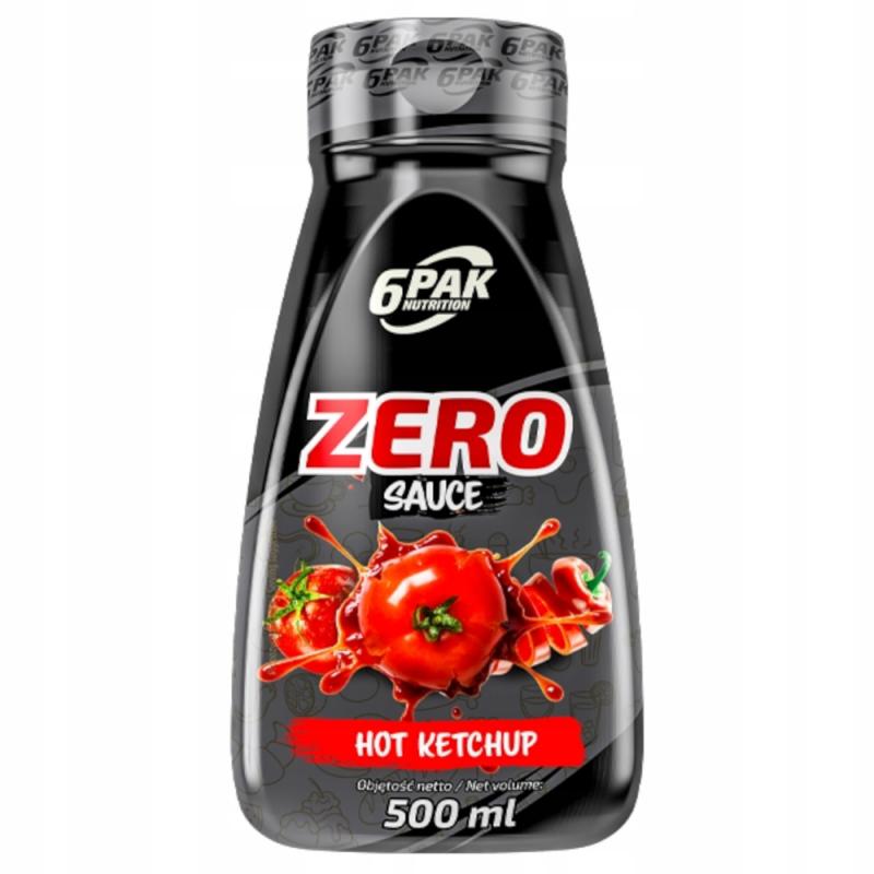 Sauce ZERO Hot Ketchup