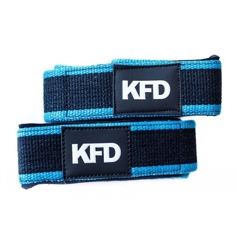 KFD paski usztywniające do martwych ciągów kolor niebieski
