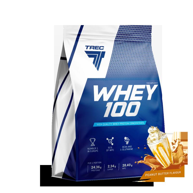 Trec Whey 100 900g białko Peanut Butter