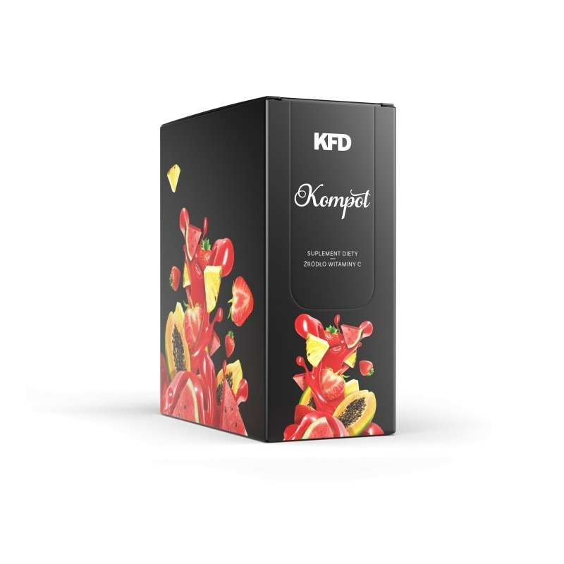 KFD Kompot 16 X 7,5 g / Koncentrat z Wit. C
