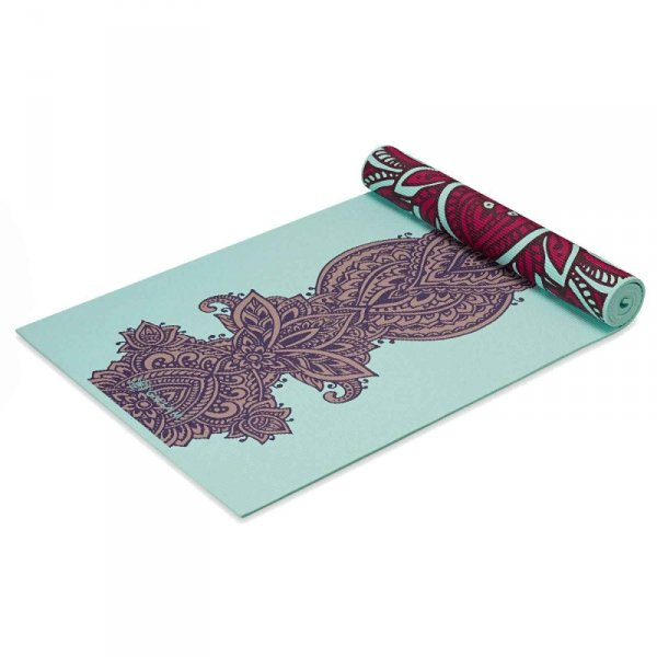 GAIAM MATA DO JOGI DWUSTRONNA ZARA ROUGE 6 MM 63368