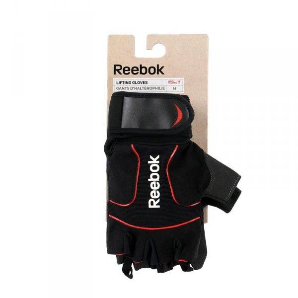 REEBOK RĘKAWICZKI TRENINGOWE LIFTING RAGB-11235BK XL