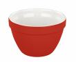 DUPLIKAT: Miska ceramiczna RETRO 0.6 L - czerwona Tala