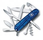 Victorinox Huntsman 1.3713.T2 transparent blue