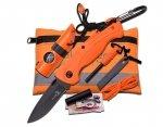 Zestaw przetrwania Master Cutlery Elk Ridge Orange (ER-PK4)