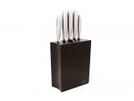 Gerlach 993 Modern - zestaw noży kuchennych (5szt.) w czarnym bloku