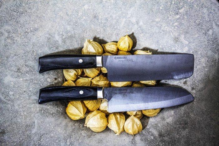 Kyocera Nóż Santoku 14 cm Japan - Noże Kyocera - Noże wg