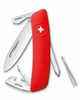 Scyzoryk SWIZA D04 RED 2 line Swiss Knife 95mm