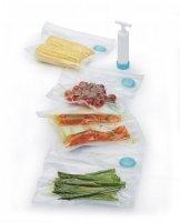 Zestaw do pakowania próżniowego + pompka Kitchen Craft