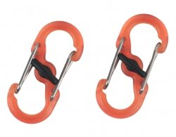Karabińczyk Nite Ize S-Biner MicroLock Plastic Orange - 2 szt. (LSBPM-19T-2R3)