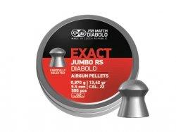 Śrut diabolo JSB Exact Jumbo RS 5,52 mm 500 szt.