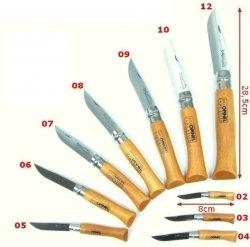 Nóż Opinel 10 carbon buk