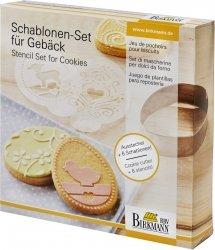 Szablony do dekoracji ciasteczek - WIELKANOC Birkmann