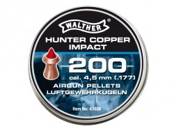 Śrut Walther 4.5 mm Hunter Copper Impact 200 szt.